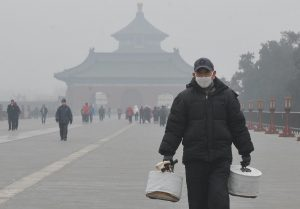 """The Beijing cough is a """"sporadic, dry cough or tickle in the throat that lasts from December through April"""", says one guide book for foreign visitors. (Image: Alamy)"""