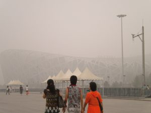 China's air quality rating is bad by international standards, says the ERA. But it's less polluted than the industrial cities of India and Saudi Arabia. (Image by nasus89)