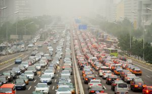 Crowdsourcing could increase commuter efficiency, helping to cut pollution from China's 200 million automobiles, says the New Cities Foundation (Image by Saf')