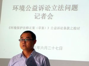 Li Gang, a lawyer, is one of those who has criticised the proposed new law (Image by Zhang Chun)