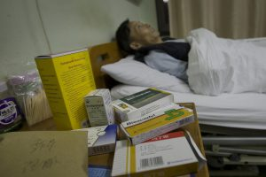Cancer victim in Shaoxing, Zhejiang province (Image: Greenpeace)