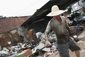 艾明德说,中国是目前为止最大的废物材料市场。图片来源:sansumbrella