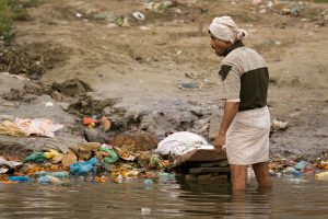 Plan's to clean up the Ganga include; upgrading existing sewage treatment plants; improving sanitation in towns along the Ganga and afforestation along certain sections of the Ganga (Image: Alamy)