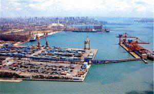 Guangdong big port