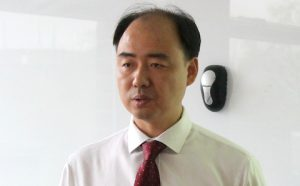Profile photograph of Environmental activist Ma Jun
