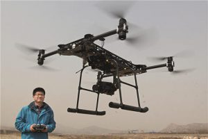 drone in China used to monitor air pollution