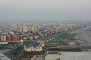 Evacuating Karachi would be impossible in the event of a serious nuclear accident. The city is Pakistan's largest – home to 20 million people. (Photo by Adeel Anwer)