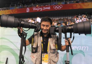 Chen Jie, winner of Journalist of the Year at the 2015 China Environmental Press Awards