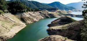 Lake Oroville drying in Canada