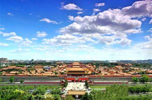 blue sky china