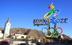 Most of the events in Beijing's bid will be held in Zhangjiakou, which is around 120 miles from the Chinese capital and is likely to rely on fake snow. (Image bybeijing-2022)