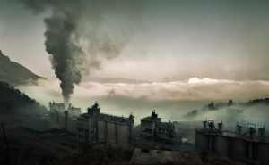 Supplying cement to the biggest construction boom in history has taken a heavy toll on the environment and human health (Image by Jonathan Kos-Read)