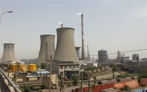 A coal-fired power plant in China's Henan province