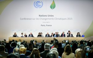 leaders at the Paris agreement