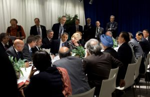 US President Barack Obama personally negotiated terms for verification of countries' emissions reductions in Copenhagen in 2009. (Image by The White House)