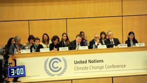 UN climate talks are entering a decisive phase, with proposals on the ratchet and review remaining a major obstacle Pic. UNFCCC