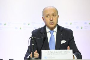 French foreign minister Laurent Fabius is in charge of the UN climate talks, but Wednesday's draft hasn't managed to demonstrate much progress on the main issues Pic:
