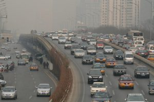 Beijing's city government hopes that its newvehicle emissions standards will help clean up the capital's foulair(Image by poeloq)