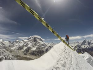 Sherpaclimbing Everest (Still from the Bafta nominated film Sherpa, directed by Jennifer Peedom)
