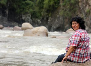 Berta Cáceres campaigned against hydro projects in heavily-forested lands populated by Honduras' indigenous population (Image by Goldman Environmental Prize)