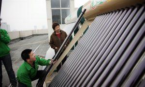 新书强调了中国能源革命的全球意义,但忽视了地方创新和政治因素。 图片来源:绿色和平/苏里
