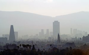 A blanket of smog covering Mexico City(Image: Alamy)