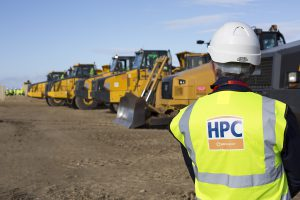 Land being prepared forconstruction at the Hinkley Point site in western England in October 2014.Anewreactor now looks increasingly unlikely as costs for new nuclearspiral upwards (Image by EDF media library)