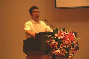 chinadialogue's former editor Liu Jianqiangaddresses last year's China Environmental Press Awards