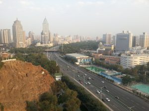 Urumqi, the biggest city in China's western province of Xinjiang