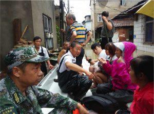 flood in wuhan