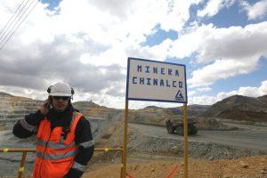 The Toromocho copper mine in Peru's central Andean region, 4,500m above sea leve