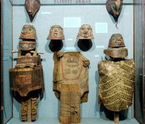 Tlingit armor American Museum of Natural History. (Image by AMNH/E. Labenski)