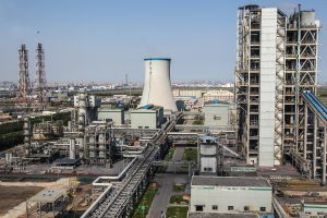 A coal gasification plant in Tianjin using 'ultra-low emissions' technology. (Image by: Asian Development Bank)