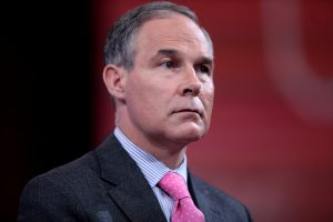 Scott Pruitt, administrator of the US Environmental Protection Agency (EPA)