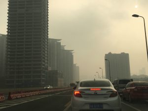 Smog in Chengdu