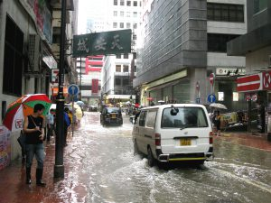 The number of extremely wet years is expected to quadruple in Hong Kong over the next century (Image by Robert Lowe)