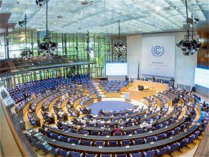德国是G20峰会的新一任主席国,将代表斐济群岛在波恩组织此次会议。图片来源:UNclimatechange