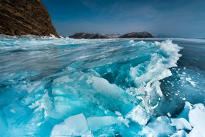 Lake Baikal in Russia holds 20% of the earth's freshwater supplies and harbours at least 2,500 species, most of them found nowhere else (Image: Alamy)