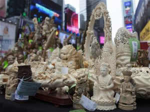 China's domestic ban on ivory has impacted the trade in neighbouring countries. (Image:IFAW)