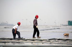 As China reduces air pollution, it can expect its solar farms to become more efficient (Image: Jiri Rezac)