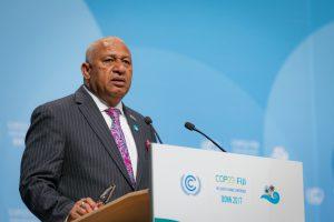 His Excellency MrFrank Bainimarama, the Fijian President of COP23 (Image:UNclimatechange)