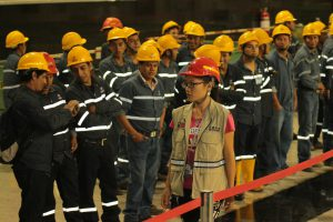Workers at the Chinese-funded Coca-codo Sinclair hydroelectric plant in Ecuador (Photo: Agencia de Noticias Andes)