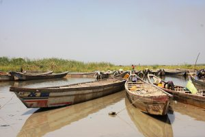 The loss of wetlands has affected livelihoods, resulting in environmental refugees and in some cases radicalisation by Boko Haram (Image: EC/ECHO/Anouk Delafortrie)