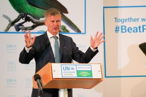 Erik Solheim, head of UN Environment at the ppening session of the UN Environment Assembly (Image: Cyril Villemain/UN Environment)