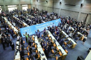 The opening meeting of the UN Environment Assembly on December 4 in Nairobi(Image: Cyril Villemain/UN Environment)