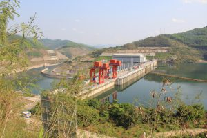 The Jinhong Dam in China is one of many new hydropower projects built on the Lancang (Mekong) River in recent years (Image: International Rivers)