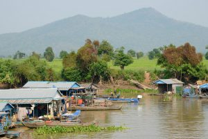Floating villages of Kampong Chhnang, Cambodia(Image: Alamy)