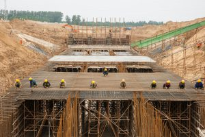 Construction on the South-North Water Transfer Project (Image: Alamy)