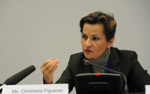 Christiana Figueres, the former executive secretary of the UNFCCC (Image: UNclimatechange)