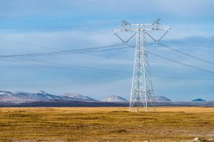 High-voltage transmission cables on Tibetan plateau, China (Image: Alamy)